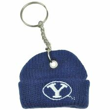 NCAA BYU Brigham Young Cougars Mini Beanie Knit Winter Hat Cap Key Chain Charm
