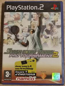Smash Court Tennis Pro Turnier 2 sony PS2 PLAYSTATION 2 Schlank