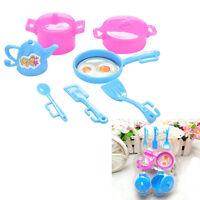 Küche Geschirr Puppe Zubehör für Puppen Mädchen Baby Haus Toy ZP