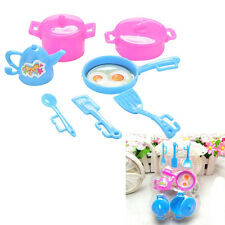 Kitchen Tableware Doll Accessories For Barbie Dolls Girls Baby Play Toy 9O