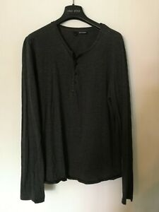 T-shirt Manches Longues The Kooples Homme Taille s Henley Tunisien