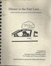 WASHINGTON IN * DAVIESS COUNTY COOK BOOK DINNER IN THE FAST LANE * QUICK & EASY