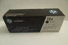 HP 12A Black Toner Cartridge 2K-Pages 3052 1018 M1319f 1020 M1120 Q2612A OEM NEW