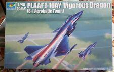 Trumpeter 1/48 Scale Model Airplane Kit Plaaf J-10AY Vigorous Dragon 02857