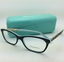 TIFFANY & CO. Eyeglasses ATLAS Collection TF 2102 8055 54-16 140 Black on Blue