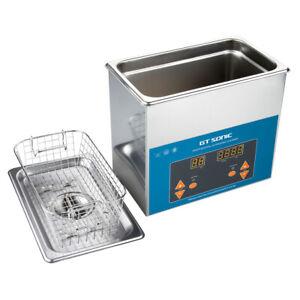 3L Digital Ultrasonic Cleaner Ultra Sonic Bath Cleaning Tank Timer Heater