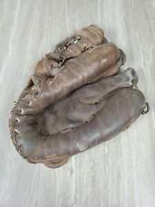 Wilson Vintage Baseball Glove Mitt Patent No 2231204 1941 Streamlined Fingers