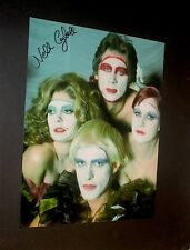 THE ROCKY HORROR PICTURE SHOW  / LITTLE NELL / SIGNED IN PERSON COLOR PHOTO  #2