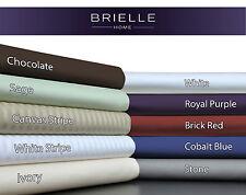 Brielle 630TC 100% Egyptian Cotton Sateen Duvet Cover NEW