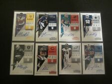 LOT OF 8 - 2018 Contenders ROOKIE/PLAYOFF TICKET AUTO RC LOT