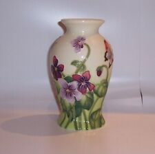 "Old Tupton Ware Primrose & Butterfly Design Vase 6"" TW7979"