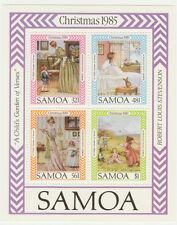 10 x Samoa 1985 Christmas minisheet, Robert Louis Stevenson unmounted mint / MNH