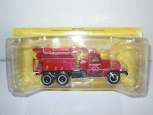 1:43 Ixo Camion Citerne Lourd Truck Tanker GMC CCFF CCL Pompier Fire Froger