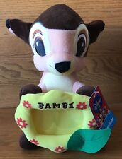 "Disney SEGA Game Prize 12"" Plush Bambi Photo Frame Series 1"