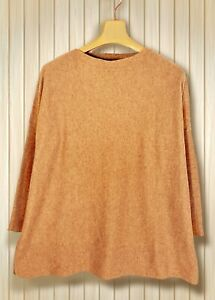 PRIMARK Pullover Chashmire-Look Damen Gr. M 38 40 Oversize Pulli Shirt beige K11