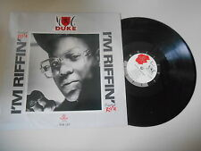 """LP Hiphop MC Duke - I'm Ruffin 12"""" (5 Song) MUSIC OF LIFE"""