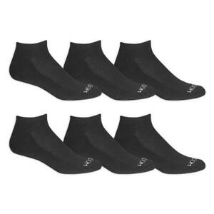 "Fruit of the Loom® Men's Durable Cushioned No Show Socks 6 Pairs "" BIG & TALL"""