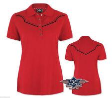 Figurbetonte Kurzarm Damen-Poloshirts