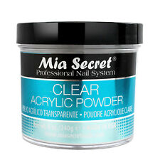 Mia Secret Professional Nail System Clear Acrylic Powder 8 oz