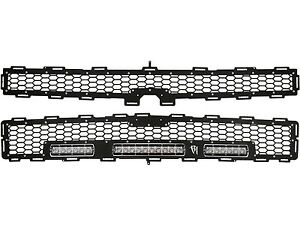 Rigid Industries 40576 LED Grille Fits 14-15 Silverado 2500 HD Silverado 3500 HD