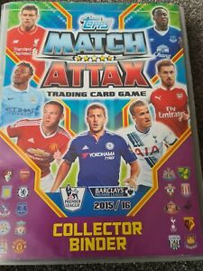 Topps Match Attax 2015/16 Collector Binder - Almost Complete