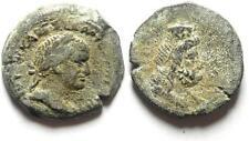 ZURQIEH -12152- EGYPT , ALEXANDRIA , VESPASIAN AE DIOBOL , SERAPIS