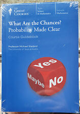 The Great Courses - What Are The Chances? Probability Made Clear Dvd -New-2006