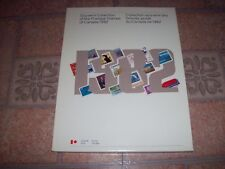 Canada 1982 Annual Souvenir Collection with Stamps MINT