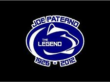 "JOE PATERNO ""LEGEND"" DECAL"