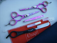 "30Days WARRANTY_2 x 5"" Hairdressing & Hair Thinning Scissors FREE Hair Shaper"