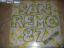 Sanremo 87 international - LP