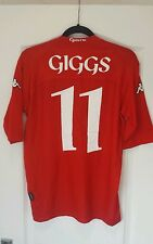 Wales Football Shirt Giggs 11 Large Man Utd