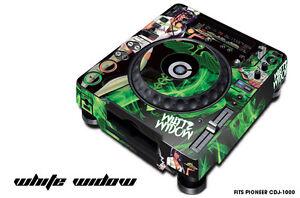 Skin Decal Sticker Wrap for Pioneer CDJ 1000 Turntable DJ Mixer Pro Audio WIDOW