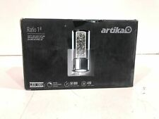 Artika Essence 4.3 in. Chrome Led Sconce with Bubble Glass New Other