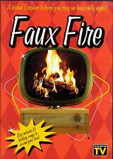 FAUX FIRE: THE VIRTUAL FIREPLACE! CHRISTMAS HOLIDAY MUSIC & CRACKLING SOUNDS DVD