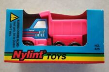 1995 Nylint Pit Bull Dump Truck Plastic Toy Pink #425 New in Box