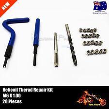 HELICOIL TYPE THREAD REPAIR KIT M6 x 1.00mm BROKEN THREADS DIY