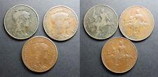 Lot de 3 x 10 centimes Dupuis