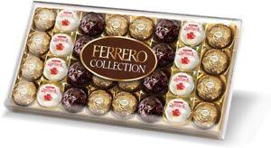 Ferrero Rocher Collection Gift Set Dark, Milk, and white Chocolate coconut 32pcs