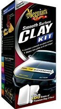 New Smooth Surface Clay Kit Clay Bar With Supreme Shine Microfibre Meguiars