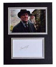 Robert Hardy Signed Autograph 10x8 photo display Harry Potter Film AFTAL COA