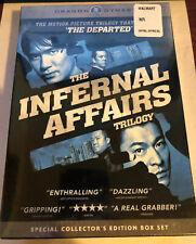 Infernal Affairs Box Set (DVD, 2007, 3-Disc Set, Widescreen) BRAND NEW SEALED!