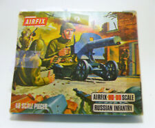 Airfix  WWII Russian Infantry 144 ea - and box HO & OO Scales S17-69 Vintage Kit