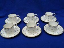Lot de 6 tasses LITRON porcelaine NYON porcelain cup suisse Swiss