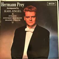 Hermann Prey , Karl Engel - Songs By Schubert, Schumann, Brahms And Strauss (LP)