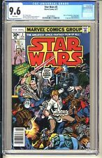STAR WARS #2  CGC 9.6 WP NM+  Marvel Comics 1977  1st app Han Solo Chewbacca