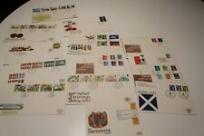 1979-84 GB FDC STAMP COVERS x14 ROYAL MAIL,CHRISTMAS,URBAN,DEFINITIVES