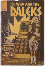 Mega-rare: Dell [Doctor] Dr Who and the Daleks comic, US, 1966.