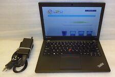 Lenovo ThinkPad X240 Laptop intel Core i7 2.1GHz 8GB 320GB Windows 10 Pro camera