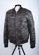P656/56 Next Men's Green Camuflage  Bomber Jacket Jacket, size L (42)